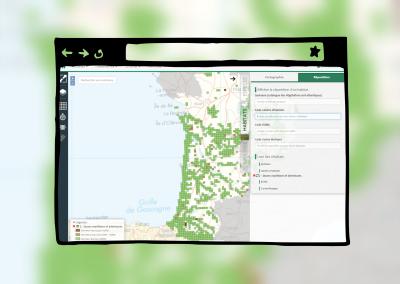 Webmapping des végétations