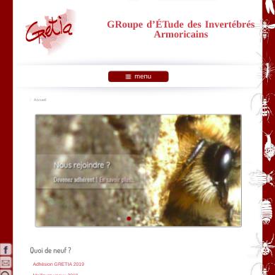 site web GRETIA