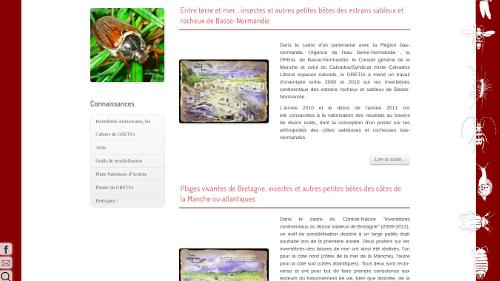 site web association naturaliste Les outils de sensibilisation du GRETIA