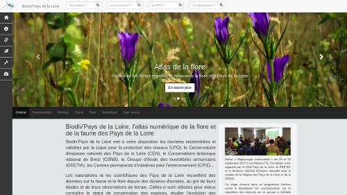 atlas biodiversité Pays de la Loire Présentation de Biodiv'Pays de la Loire