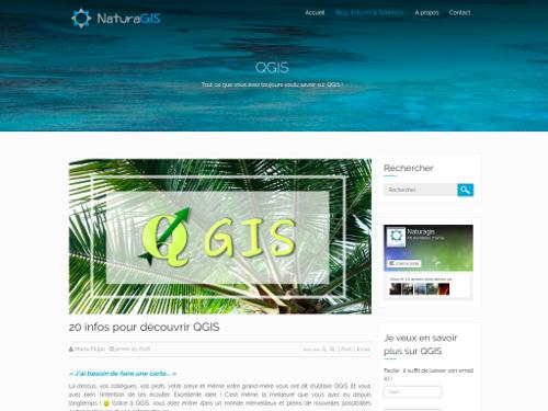 SIG applications environnement Un tutoriel QGIS sur NaturaGIS