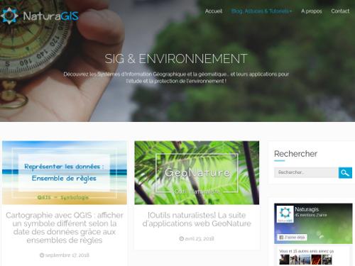 SIG applications environnement Des tutoriels SIG & Environnement