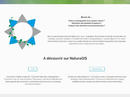 SIG applications environnement Accueil de NaturaGIS