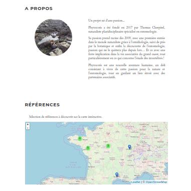 site web naturaliste indépendant Présentation de Phytocoris